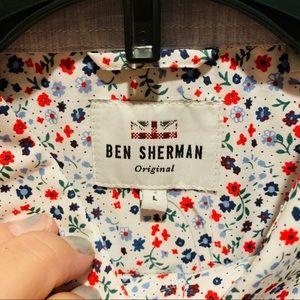 Short sleeve button down by BEN SHERMAN